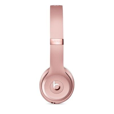 Beats By Dr Dre Solo 3 3 0 Wireless Noise Isolation Headphones Rose Gold 190198105455 Ebay