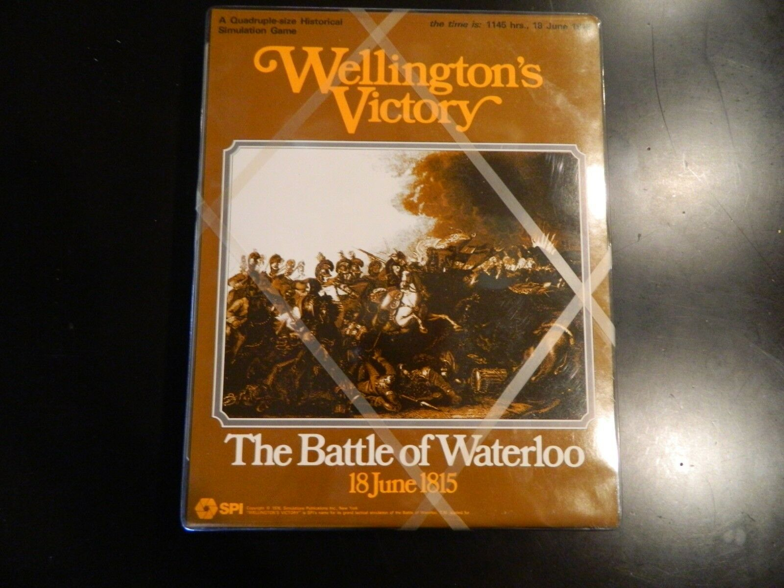 SPI Wellington's Victory - The Battle of Waterloo  Unpunched  NEW  RARE