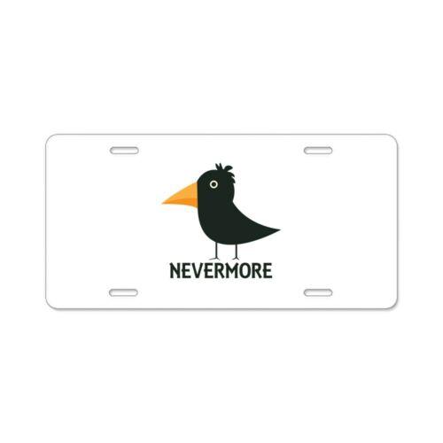 CafePress Nevermore Raven License Plate 976932409