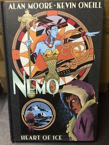 Nemo-Heart-of-Ice-Alan-Moore-Hardcover-Graphic-Novel-Top-Shelf-HC-Indy-NEW