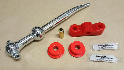 Megan Racing Short Throw Shifter Shift Kit 88-00 Civic CRX EG EK & RED Bushings