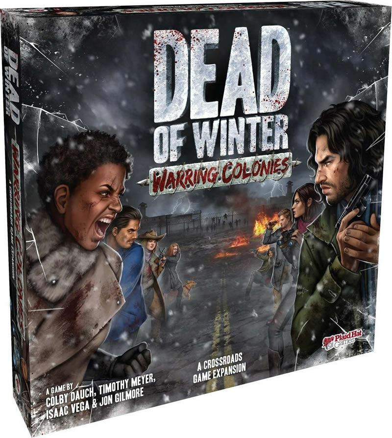 DEAD OF WINTER WINTER WINTER  WARRING COLONIES EXPANSION CARD GAME 7f97f2
