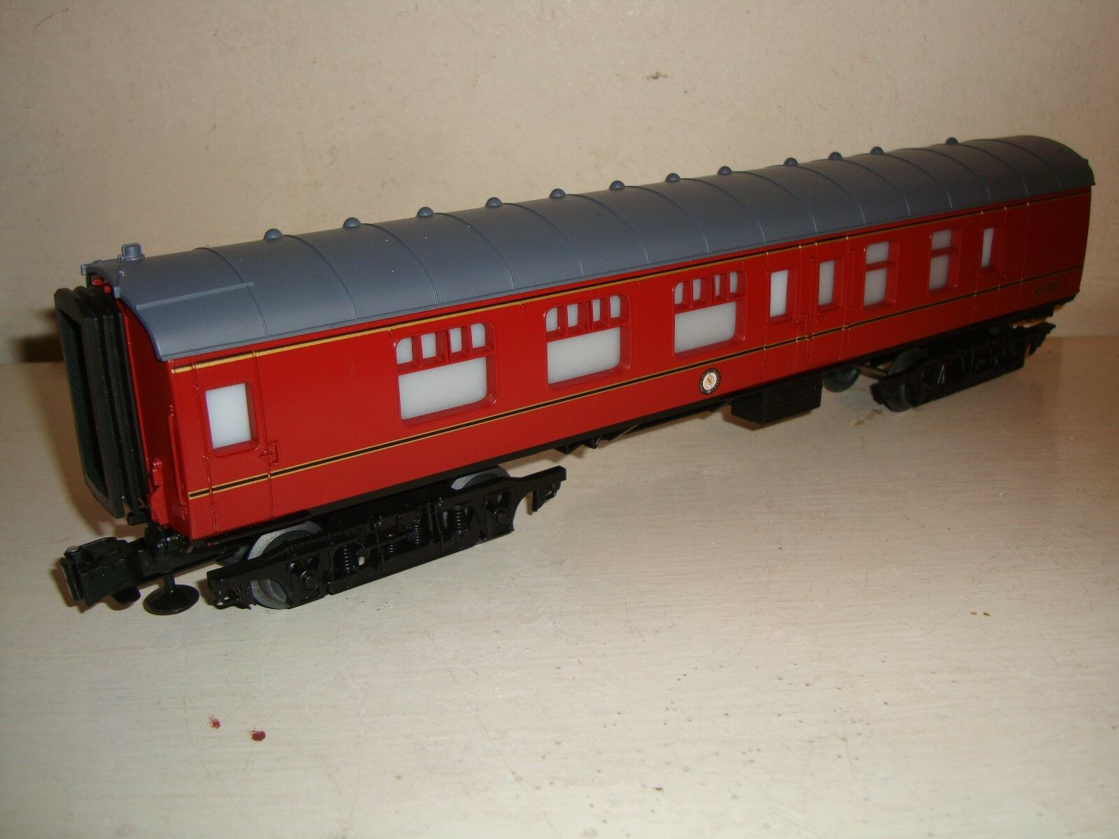 Lionel Trains O - 3rail BR Maroon Corridor Comp/brake 2nd.-99720-Lit- Nuovo -c2010