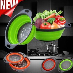 Kitchen-Collapsible-Foldable-Silicone-Colander-Fruit-Vegetable-Strainer-Basket