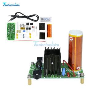 Mini Tesla Coil Plasma Lautsprecher Elektronische Feldmusik 15W DIY Projekt Set