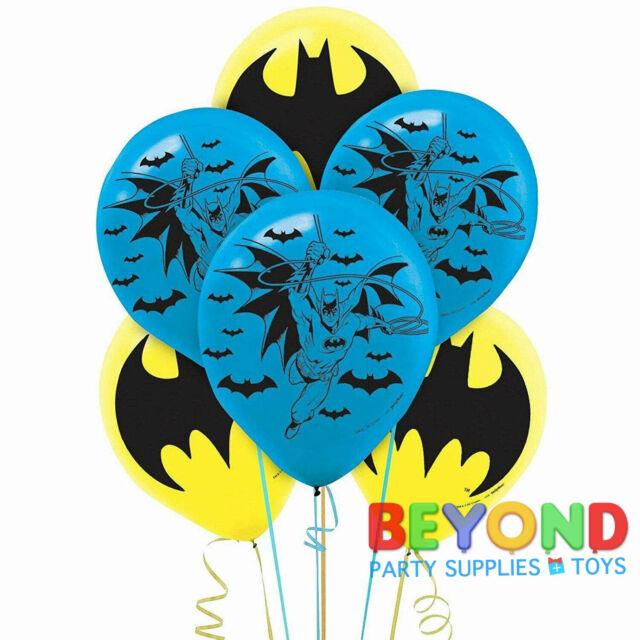 Batman Printed Latex Balloons Party Decoration Supplies
