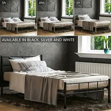 Dorset Double King Size Single Bed Metal Steel Frame 4ft6 5ft Bedroom Furniture