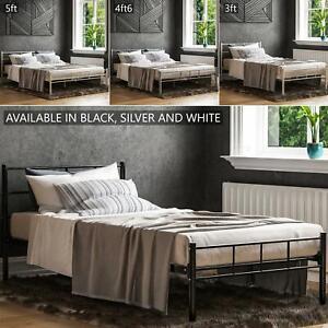 Dorset Double King Size Single Bed Metal Steel Frame 4ft6 5ft Bedroom Furniture