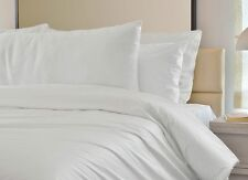 KING SIZE DUVET COVER, WHITE, Ex Hotel, Defect. Ideal for Craft,Tie Dye,