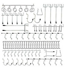 Wall Pegboard Hooks Storage Stainless Steel Equipment Tool Heavy Duty New