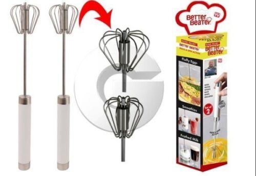 Set de 2 Fouets Magiques de cuisine Better Beater Pâtisserie Gâteaux