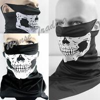 Ski Snowboard Motorcycle Half Face Neck Bandana Scarf Mouth Mask Protector Skull
