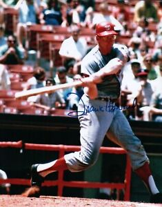 Frank-Howard-Signed-8X10-Photo-Autograph-Washington-Senators-Swinging-Auto-COA