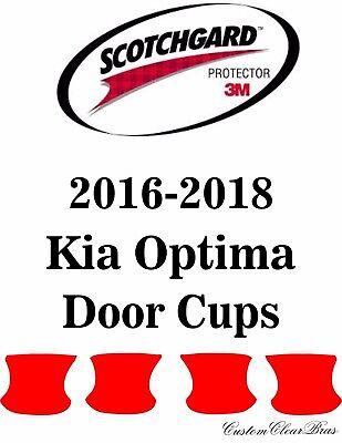 Clear Paint Door Handle Cup Protection Film for Kia Optima Sedan 2016-2018