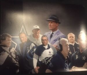 DAVE-CAMPO-SIGNED-DALLAS-COWBOYS-Autographed-Photo-Gameday-Hologram-J