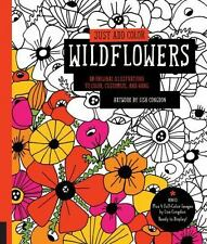 Just Add Color: Just Add Color: Wildflowers by Lisa Congdon (2016, Paperback)
