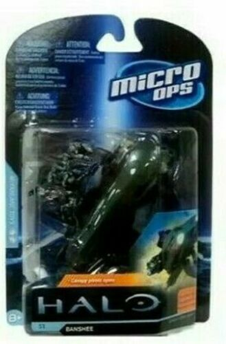 Halo Micro Ops Series 1 BANSHEE  with 2 Small Mini Figures by McFarlane