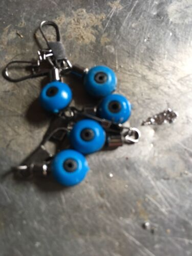 5 X BLUE Tench Quick Change Weight Link Float Bobber Link
