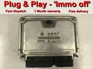 Bosch Ecu Immobiliser Off Vw Audi Skoda Seat