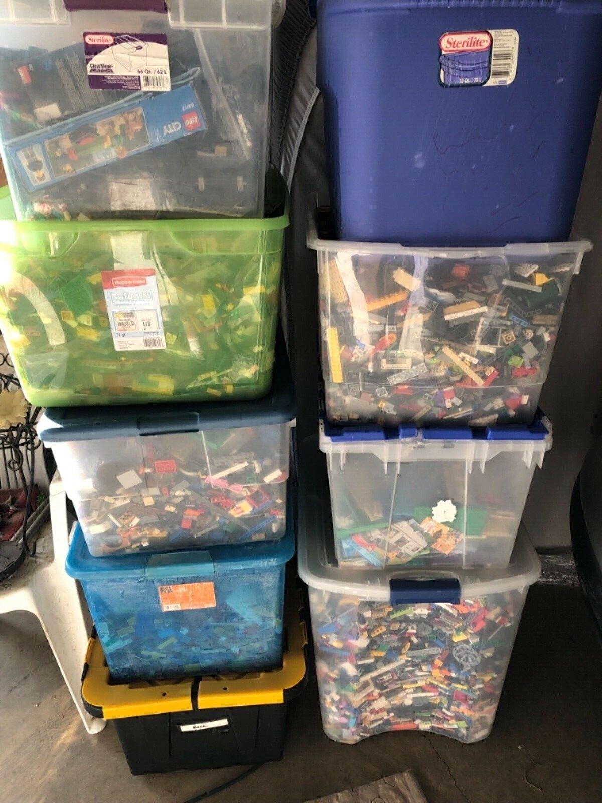Huge Lego 20 pounds of Lego Bulk Bulk Bulk Lbs Mixed Legos 4db35c