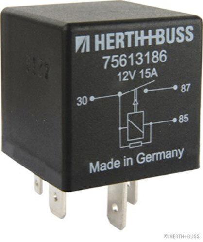 HERTH+BUSS ELPARTS Relais für Kraftstoffpumpe 75613186 AUDI - SEAT - SKODA - VW