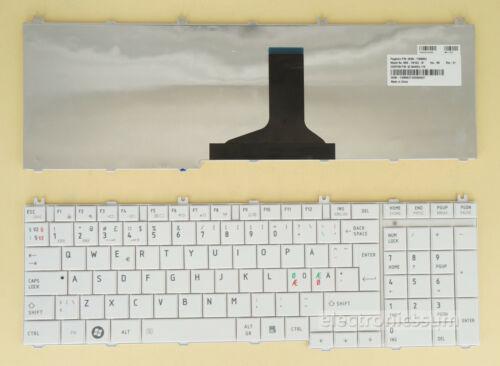 Nordic Norwegian Keyboard For Toshiba L660 L665 L660D L665D L750 L750D L755 L770
