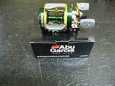 ABU GARCIA 6600 CLASSIC C4 ROUND REEL CUSTOM GREEN & YELLOW