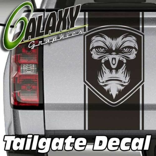 Gorilla Badge Truck Bed Tailgate Decal Sticker Ram F150 Silverado Tundra /& More
