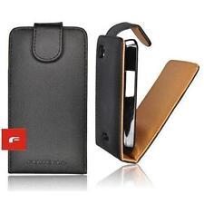 Tasche Flip Case Cover Schutz Hülle Etui Prestige Samsung S5570 Galaxy Mini schw
