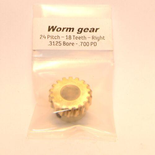 NEW Generic Gear BWG-2418-SR Worm Gear 0.3125