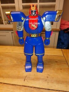 Power Rangers transforming Megazord robot transforming toys Blue/red vintage