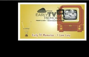 2009-FDC-Early-TV-Memories-I-Love-Lucy-North-Hollywood-CA