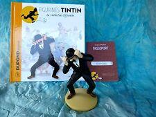 Figurine Tintin N°4 - Dupond engoncé - Hergé 2011 + Livret et Passeport