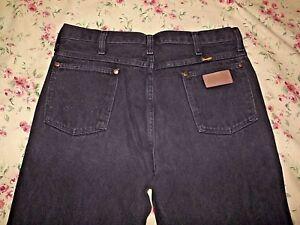 f6ded782 Men's Wrangler Jeans Black Size 34 x 34 Style #936wby | eBay