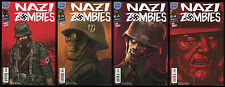 Nazi Zombies Full Set 1-2-3-4 Lot Antarctic Press German WW2 SS Call of Duty NEW