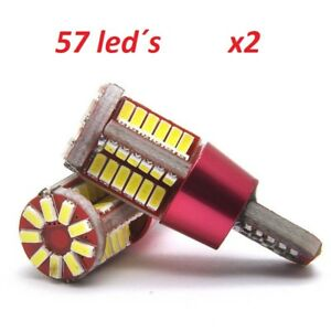 Bombillas-T10-LED-Canbus-57SMD-5630-5W5-Car-Bulbs