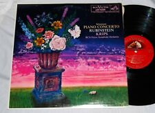RUBINSTEIN SCHUMANN PIANO CONCERTO RCA LM-2256 SHADED DOG 3S/3S NM LP