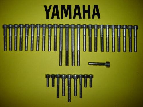 YAMAHA XS 250 XS250 XS400 250cc 400cc SS Inoxydable moteur Kit vis allen nouveau