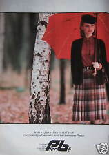 PUBLICITÉ PAPIER 1980 PIERBÉ LES JUPES ET LES TRICOTS - ADVERTISING