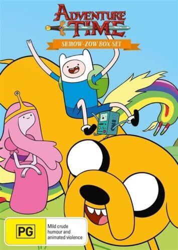 1 of 1 - Adventure Time - Shmowzow (DVD, 2013, 4-Disc Set) LIKE NEW REGION 4