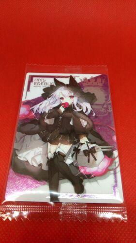 EX Erebus Azur Lane Wafer Trading Card Mobile Game Hobby Collection Japan