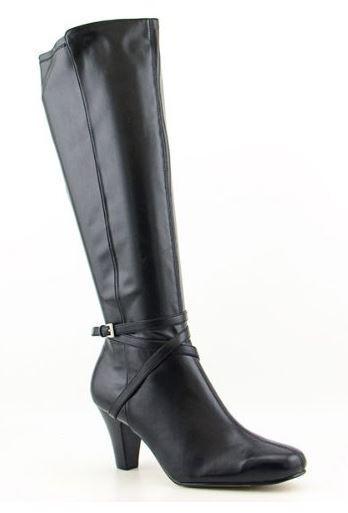 Karen Scott Cassidy Cassidy Cassidy botas Zapatos De Rodilla Pantorrilla Ancho Negro para Mujer 6M  producto de calidad
