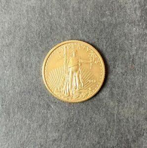2018 $5 1/10 oz Gold American Eagle *Free Shipping*