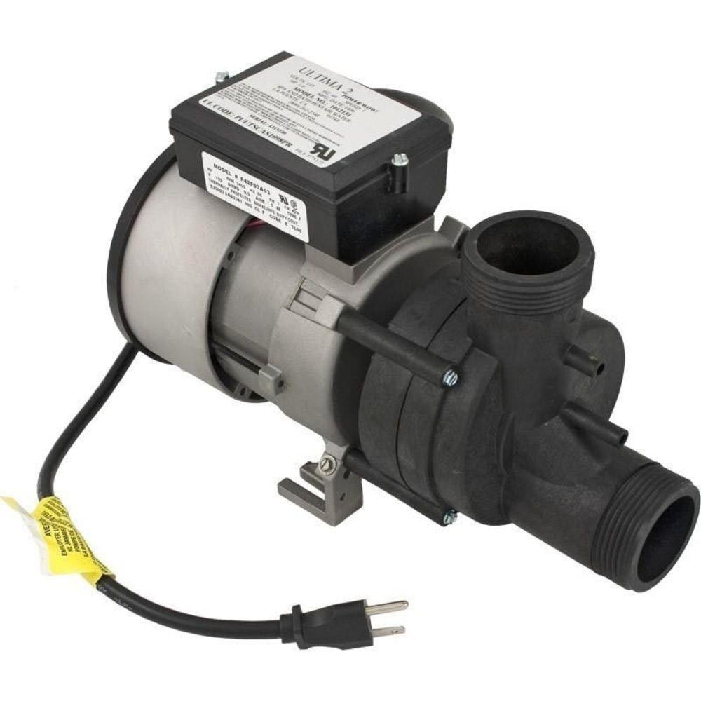 Balboa 1051057 Wow Baño Bomba 9.0 amperios 115v 1hp 3   Nema Cable Aire Interruptor