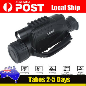 NEW-Tactical-IR-Infrared-Night-Vision-Monocular-Scope-200m-5X40-Zoom-Record-DVR