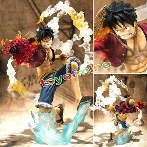 COOL POP Monkey D Luffy Battle Ver Figure Japan Anime One Piece Loose Gift