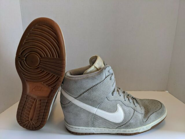 Nike Dunk Sky Hi Shoes Hidden Wedge