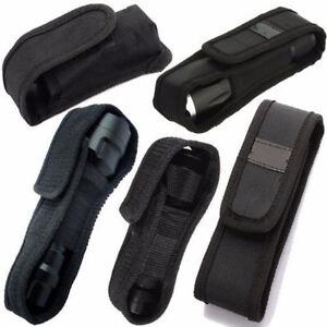 5-Sizes-LED-Flash-light-Torch-Lamp-Nylon-Pouch-Holster-Belt-Carry-Case-Holder