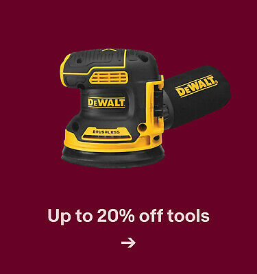 Up to 20% off tools