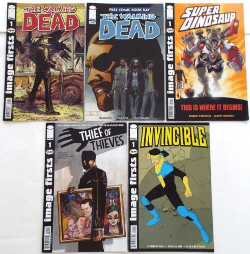 5 By ROBERT KIRKMAN The Walking Dead Thief Of Thieves Super Dinosaur Invincible